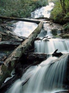 The Splendor of North Carolina Mountain Fall Color and Waterfalls.
